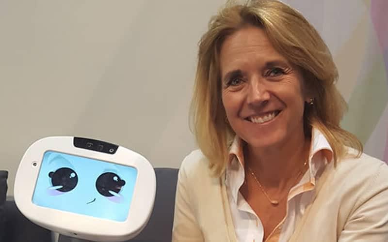 Anita van den Hoek, robots en ethiek