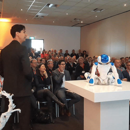 Keynote exponentiële technologie en robots