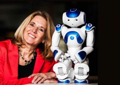 Anita van den Hoek, dagvoorzitter, robots en ethiek