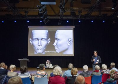 Interactieve workshop over robots in de zorg