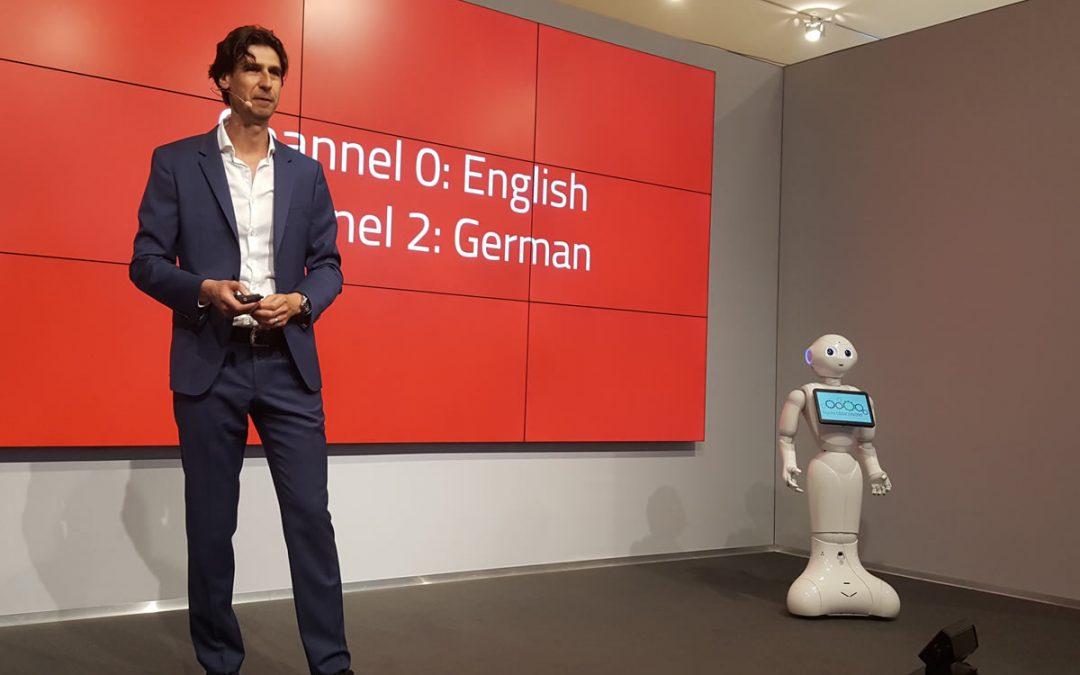 Randall van Poelvoorde, robots en exponentiële technologie