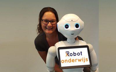 Helma Lensen, spreker robots en onderwijs