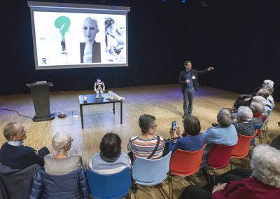 Tom Ederveen, Keynote spreker spreker robots in de zorg