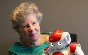Spreker over robots en ouderen