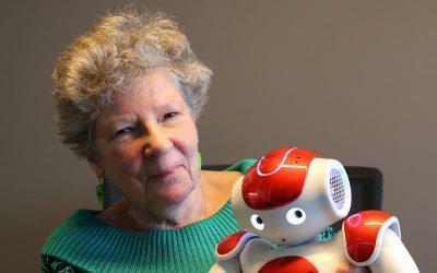 Thea Storm, robots en ouderen