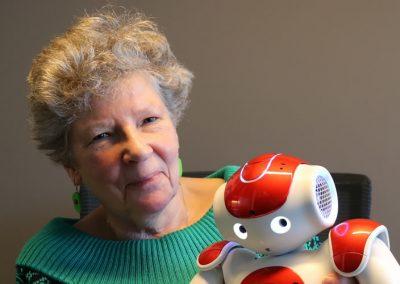 Thea Storm robots en ouderen