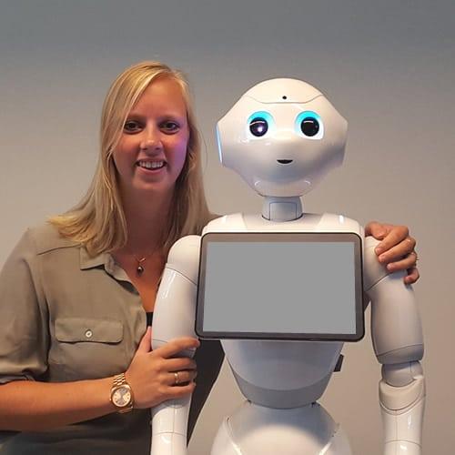 Yvonne Jägers, robots nu en in de toekomst
