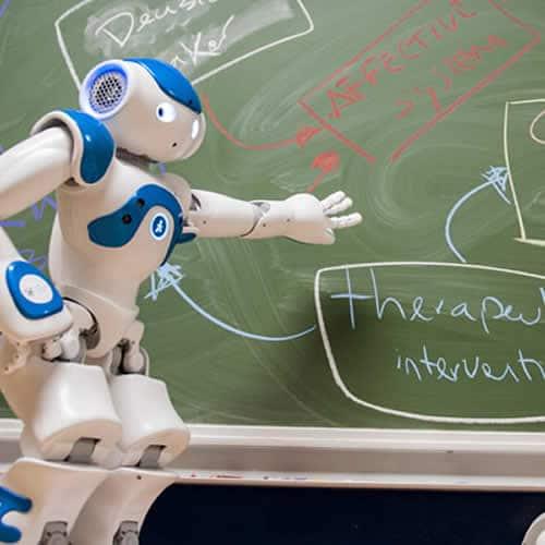 Workshop robots in de zorg