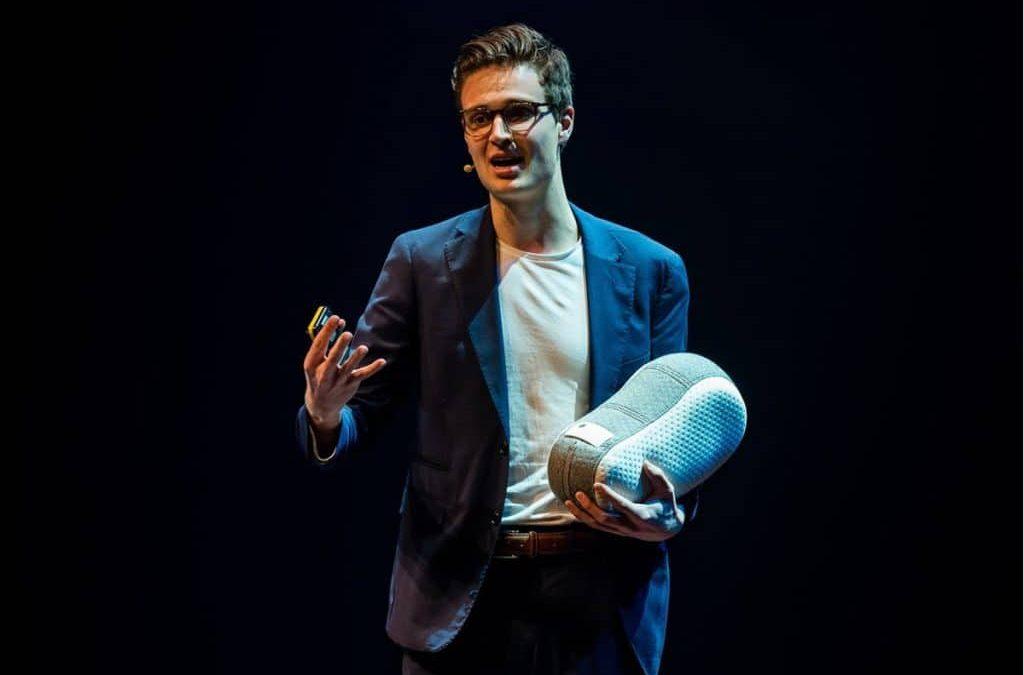 Ir. Julian Jagtenberg, spreker preventieve zorg robotica en kunstmatige intelligentie