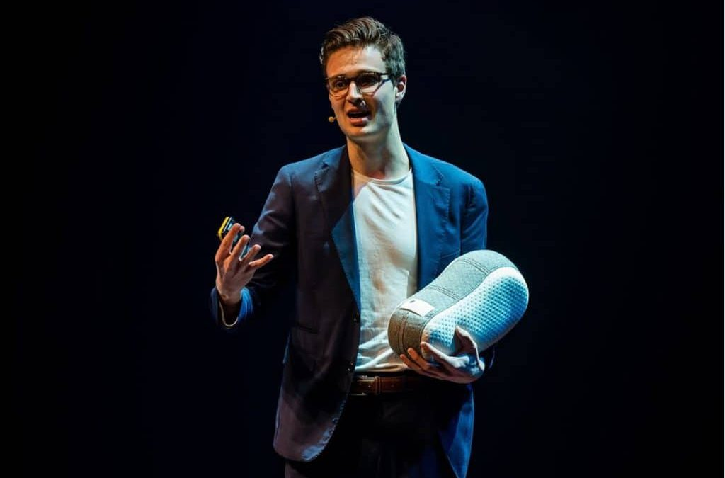 Ir. Julian Jagtenberg, spreker preventieve zorg m.b.v. robotica en AI